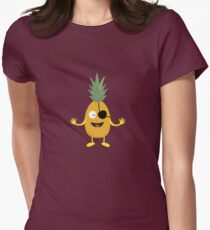 Pineapple Pirate with eye-patch R9ozq T-Shirt