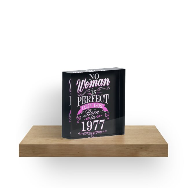 40th Birthday Gift Women Is Perfect 40 Year Old Gift Acrylic Blocks