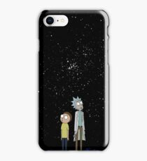 Rick and Morty lost in Space  iPhone Case/Skin