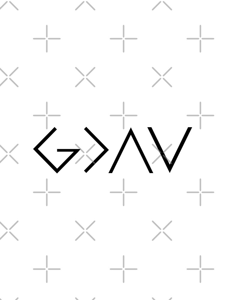 God Is Greater Than the Highs and Lows by WordsFromHeaven
