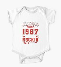 Classic Since 1967 Vintage 50th Birthday Pun Gift Kids Clothes