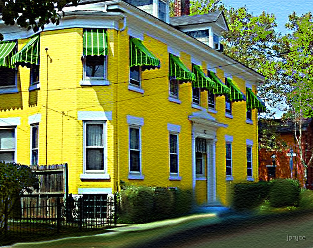 Happiness is a Yellow House by jpryce
