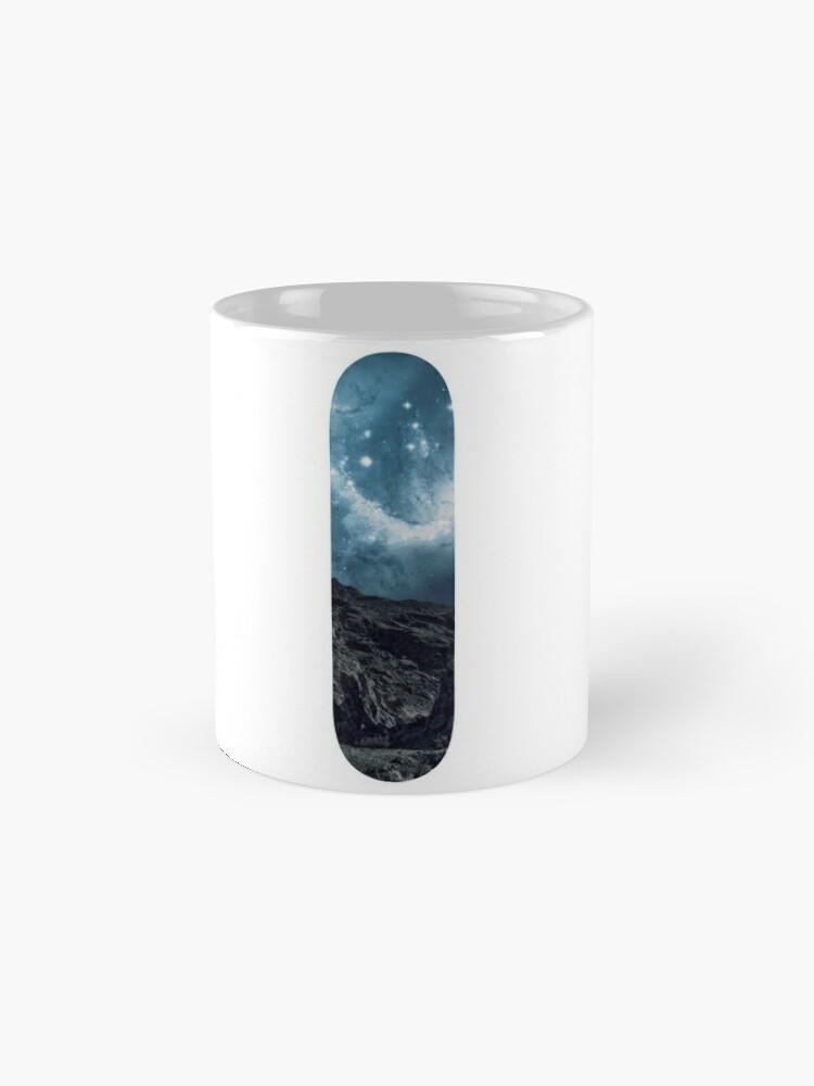 Alternative Ansicht von Space Skate - Blau Tassen