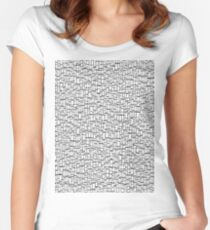 Black & White 5 Women's Fitted Scoop T-Shirt