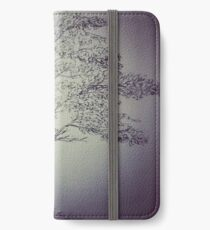 Pen&Ink Tree iPhone Wallet/Case/Skin