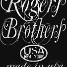 rogers brothers usa ny logo distressed by usanewyork