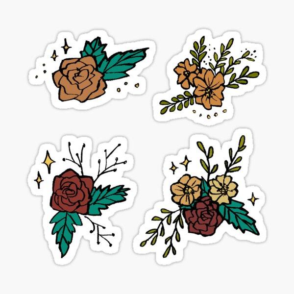 Witchy Florals Sticker Set Sticker