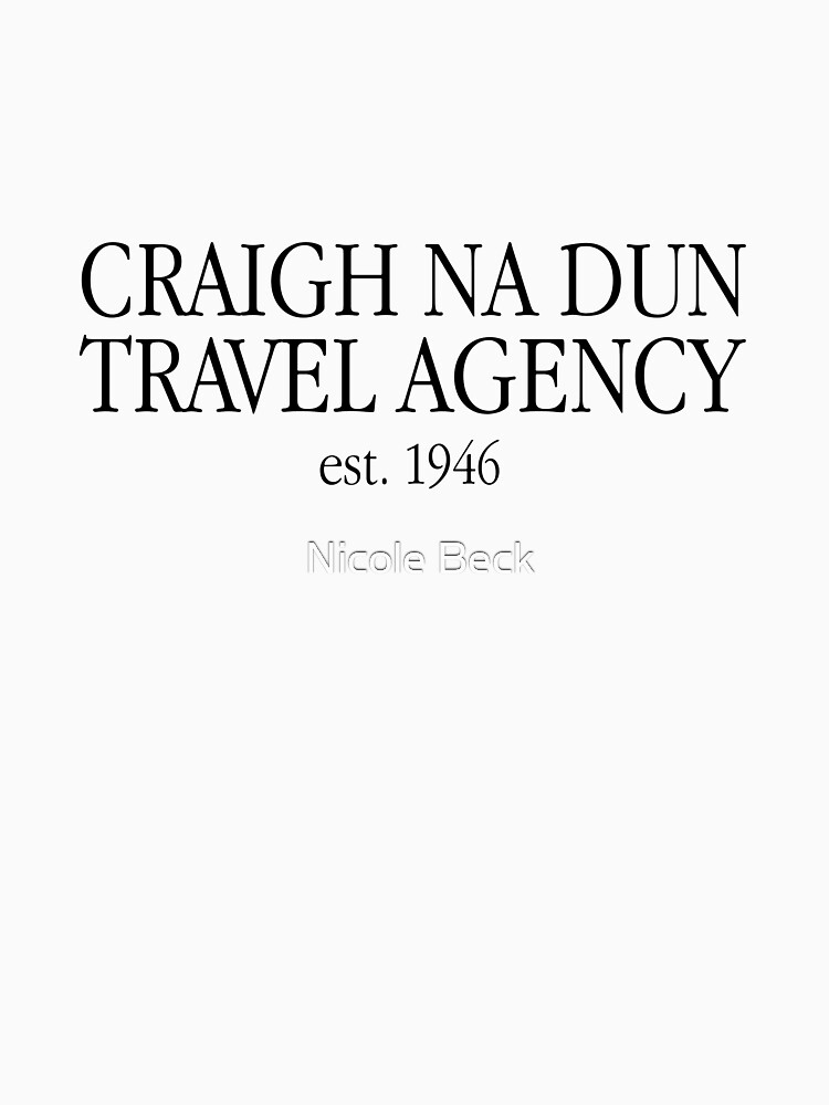 Craigh Na Dun Travel Agency by Drunken-Sailor