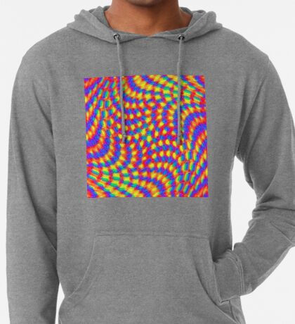 Color Waves Lightweight Hoodie