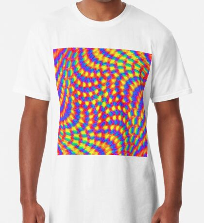 Color Waves Long T-Shirt