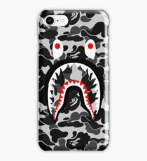 black white iPhone Case/Skin
