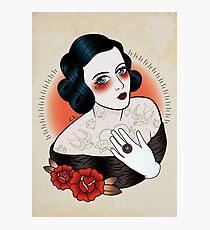 Flapper Girl Photographic Print