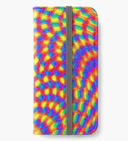 Color Waves iPhone Wallet