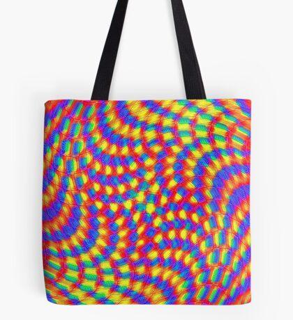 Color Waves Tote Bag