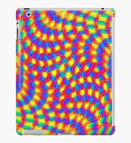 Color Waves iPad Case/Skin