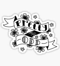 Pretty Odd Sticker