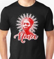 HD Nina Simone - The High Priestess of Soul HIGH DEFINITION Slim Fit T-Shirt
