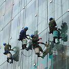 Window cleaning in Shanghai by Patrick Czaplewski