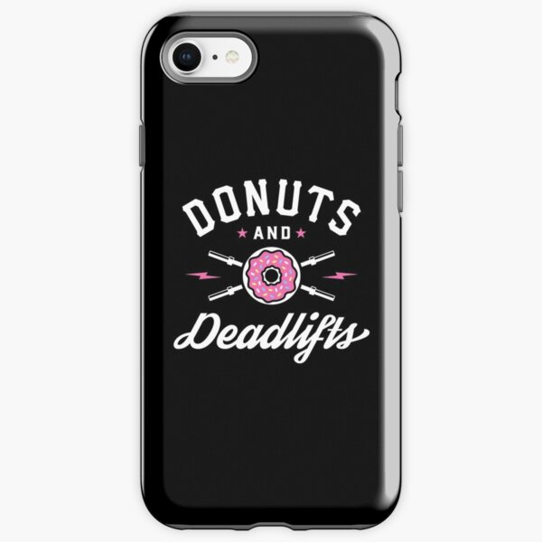 Donuts And Deadlifts iPhone Tough Case