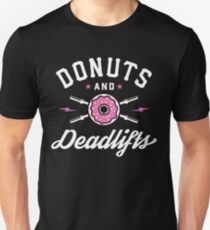 Donuts And Deadlifts Unisex T-Shirt
