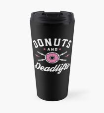 Donuts und Deadlifts Thermobecher