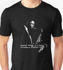 HD Trane - John Coltrane - b&w plain design HIGH DEFINITION Slim Fit T-Shirt