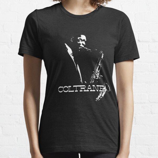 HD Trane - John Coltrane - b&w plain design HIGH DEFINITION Essential T-Shirt