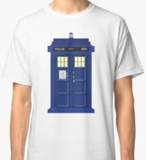 TARDIS WHO (DR WHO) Classic T-Shirt