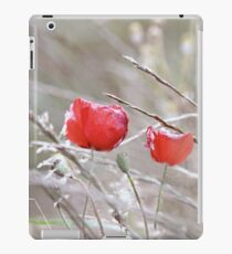 Fading Poppies iPad Case/Skin