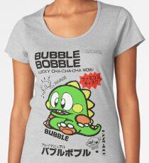 Bubble Bobble (Japanese Art) Women's Premium T-Shirt