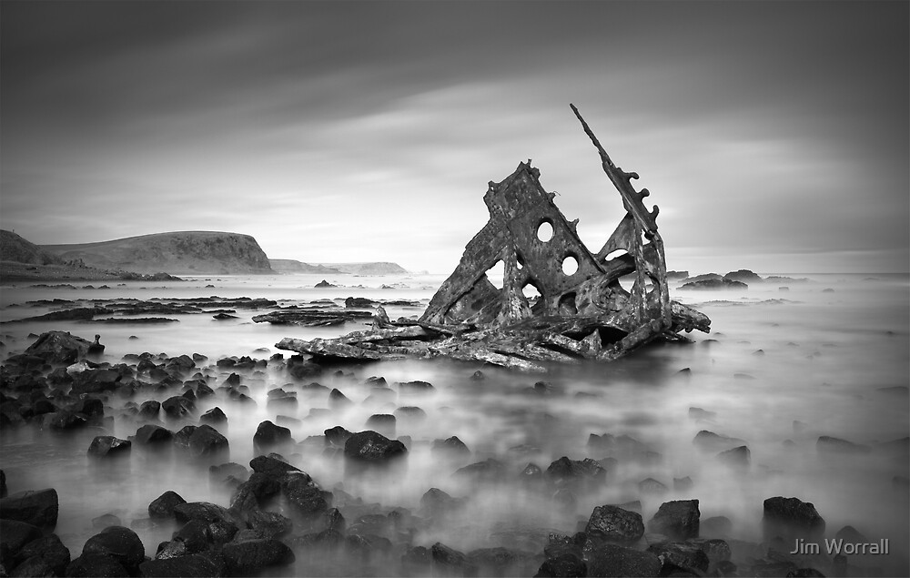 SS Speke shipwreck remnants by Jim Worrall