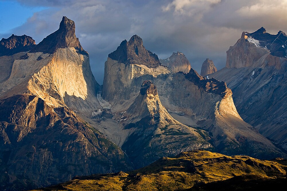 Cuernos Del Paine by Geoff Wise