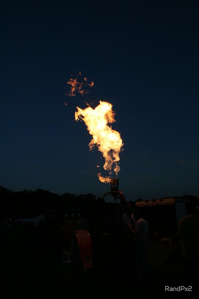 Hot Air Balloon Torch Fire  by RandPx2