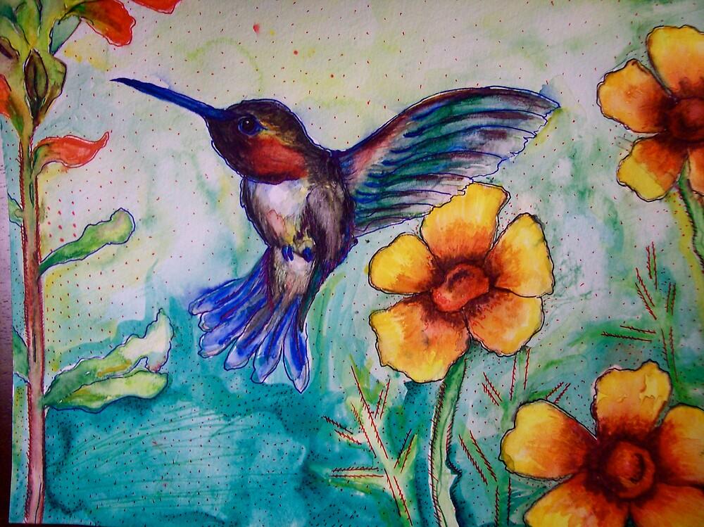 Humming Bird by MegJay