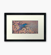 The Aerialist Framed Print