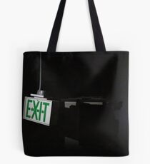 follow the signs Tote Bag