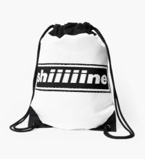 These are crazy days Drawstring Bag