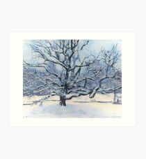 Tree of Life - Winter Art Print
