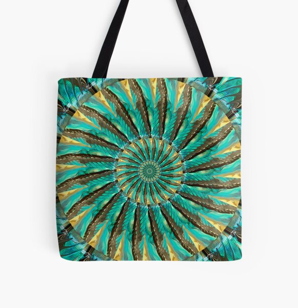 Fragmented Reality All Over Print Tote Bag