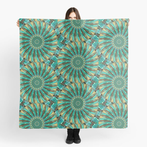 Fragmented Reality Scarf