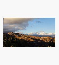 Mountain High Photographic Print