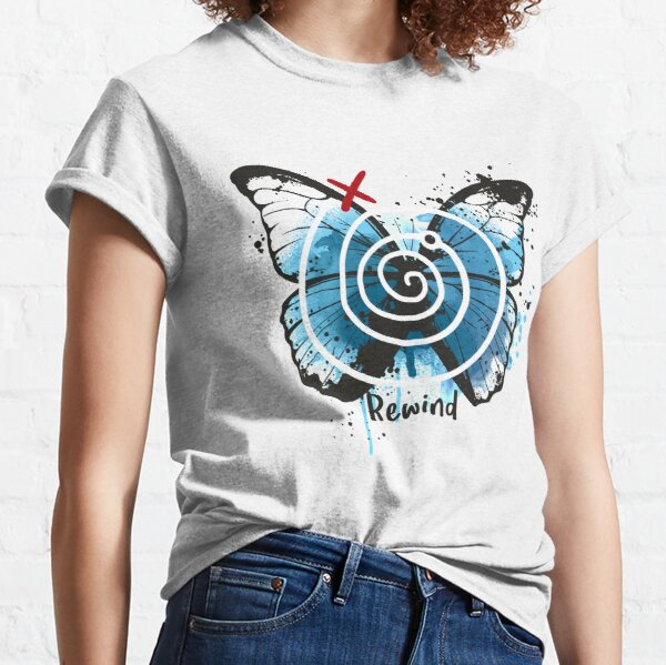 rembobiner la vie est étrange T-shirt classique