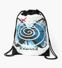 rewind life is strange Drawstring Bag