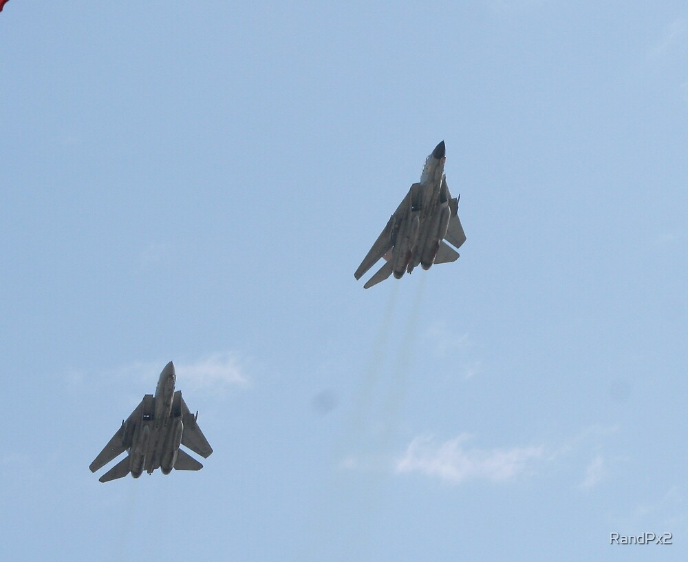 Fighter Jets over Yankee Stadium by RandPx2