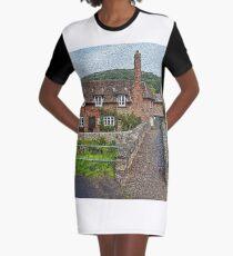 Rural Scene 2 Graphic T-Shirt Dress
