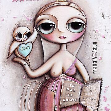 Freedom with big eyes doll by marrighi