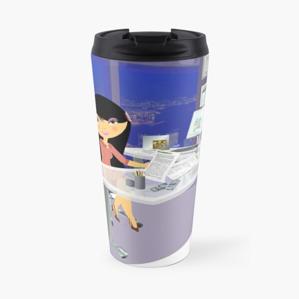 TropoGirl - Chinese country girl - Success Travel Mug