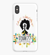 TEAM 77 - Exposure iPhone Case/Skin