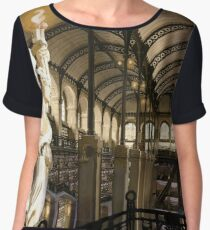 Endless Library / The Arcana Atheneum Women's Chiffon Top