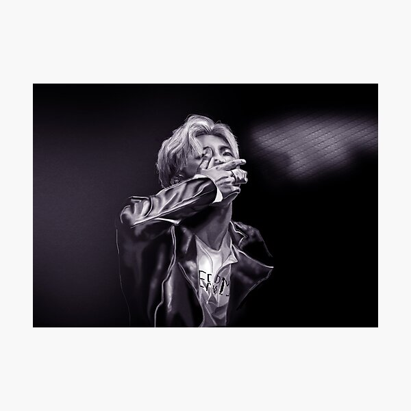 BTS - RapMonster Photographic Print